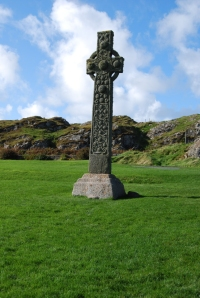 High cross at Iona