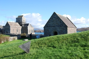 The chapel of St Oran at Iona