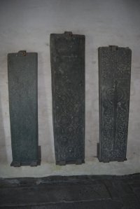 Ancient tomb lids from Iona