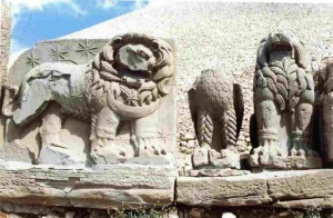 Atela of the Lion horoscope at Arsameia